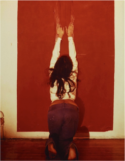 Ana Mendieta, Untitled (Body Tracks), 1974
