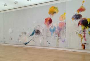 """""""Say Goodbye, Catallus, To The Shores of Asia Minor"""" — Cy Twombly"""