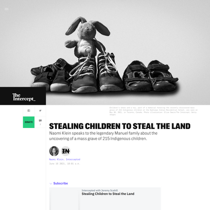 Intercepted: Stealing Children to Steal the Land