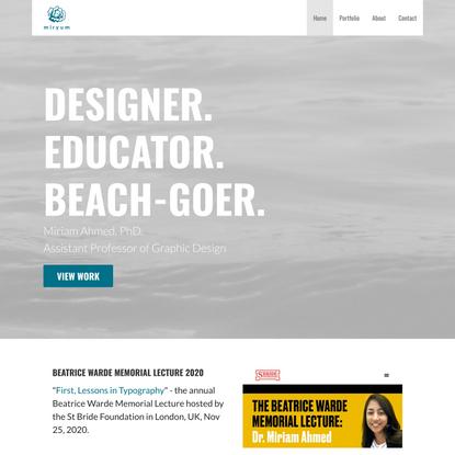 Miryum – Graphic Designer