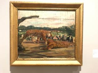 Otto Dill - Der Tiger in Kāfig,1925