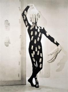 Charles Henri Ford in a costume designed by Salvador Dali. Cecil Beaton c.1936