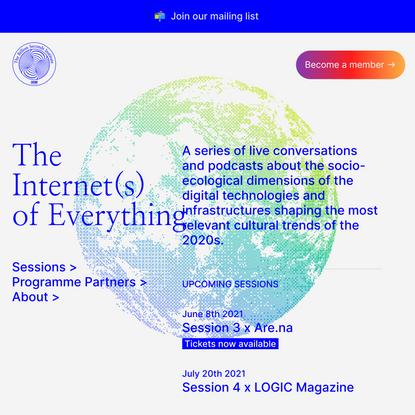IoE — The Billion Seconds Institute
