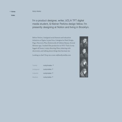 Molly Mielke — Product Designer