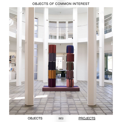 Untitled - Objects of common interest