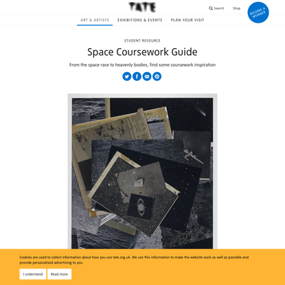 Space Coursework Guide – Student Resource | Tate