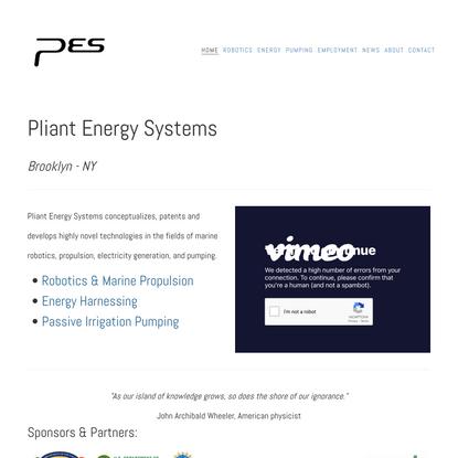 Pliant Energy Systems