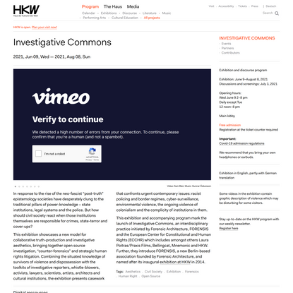 Investigative Commons