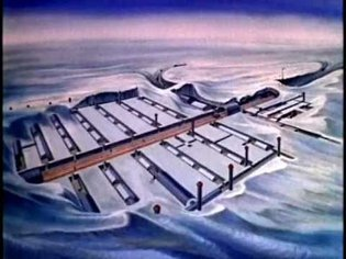 """The U.S. Army's Top Secret Arctic City Under the Ice! """"Camp Century"""" Restored Classified Film"""