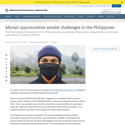Myriad opportunities amidst challenges in the Philippines