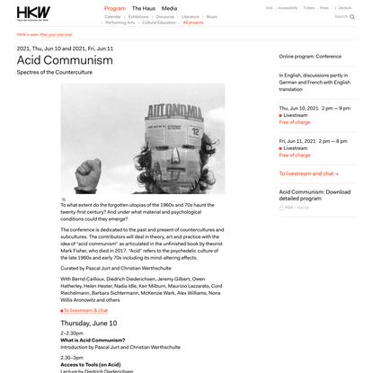 Acid Communism