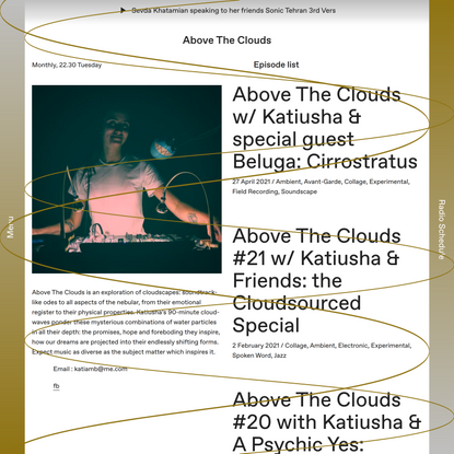 Above The Clouds – Cashmere Radio