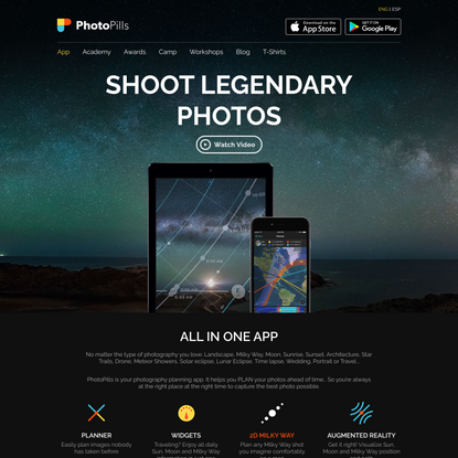 PhotoPills   Shoot legendary photos