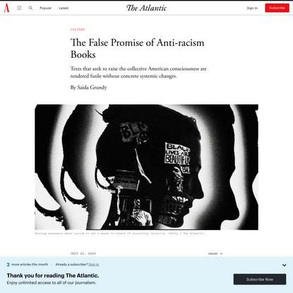 The False Promise of Anti-racism Books