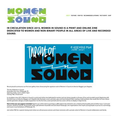 Women in Sound