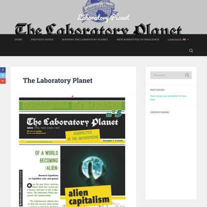 Laboratory Planet / Crowdfunding