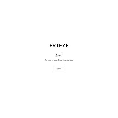 Forbidden | Frieze