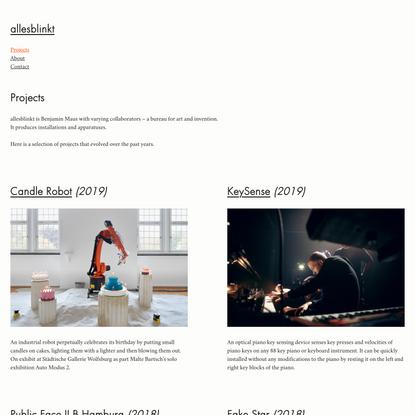 Projects — allesblinkt