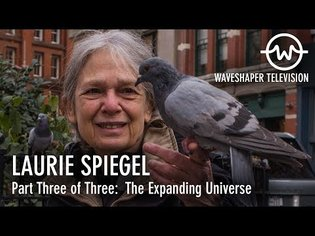 Laurie Spiegel - Waveshaper TV Ep.6 (Part 3 of 3: The Expanding Universe)