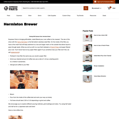 Hermiston Brewer
