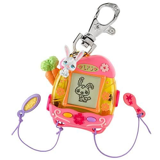 tamagotchi with accessories