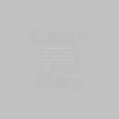 𝔏aurent 𝔇 - Internet Designer