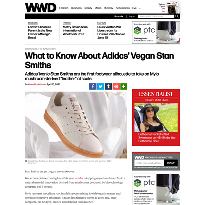 What to Know About Adidas' Vegan Stan Smiths