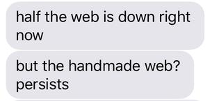 the handmade web persists