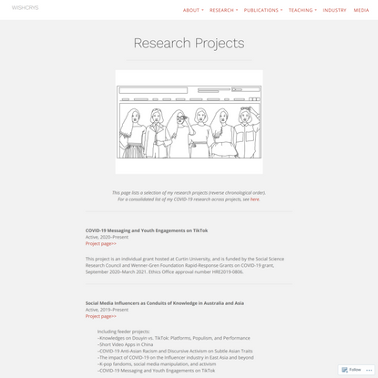 Research Projects – WISHCRYS