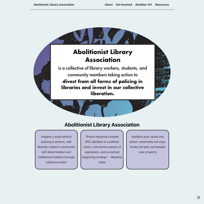 Abolitionist Library Association