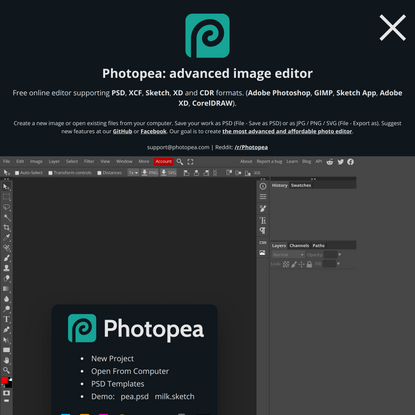 Photopea | Online Photo Editor