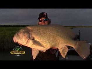 Super-Sized Freshwater Drum Fishing in Manitoba - Manitoba Master Angler Minute