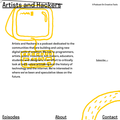 Artists and Hackers