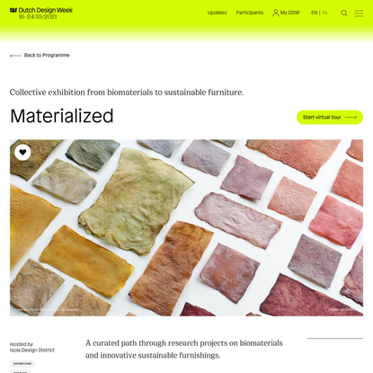 Materialized - Isola Design District