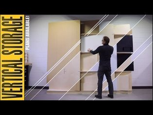 Vertical Sheet Storage for the Shop