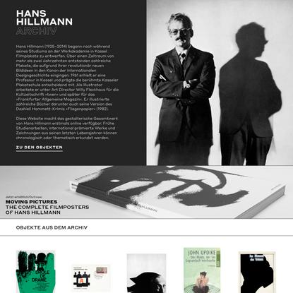 Hans Hillmann Archiv
