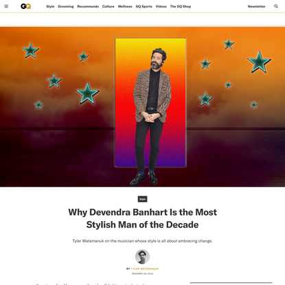 The Contenders: Why Devendra Banhart Is the Most Stylish Man of the Decade