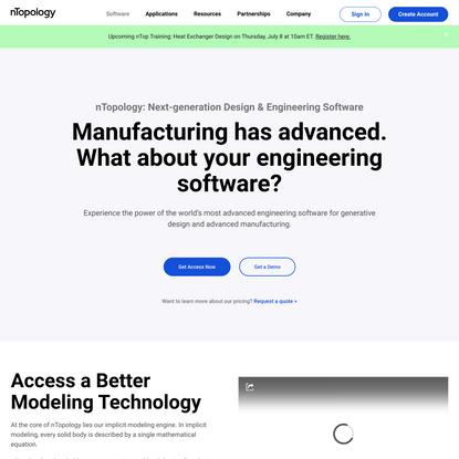 nTopology   Engineering, Design & Simulation Software