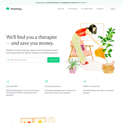 Headway | Find Therapists Covered by Your Insurance