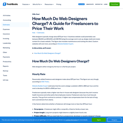 How Much Do Web Designers Charge? A Guide for Freelancers to Price Their Work