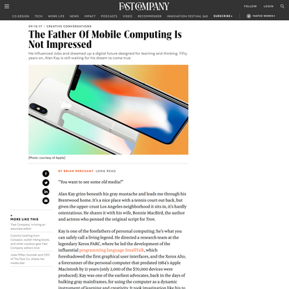 The Father Of Mobile Computing Is Not Impressed