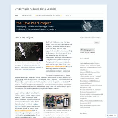 Underwater Arduino Data Loggers