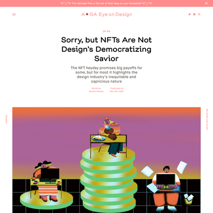 Sorry, but NFTs Are Not Design's Democratizing Savior