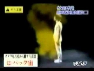 How to escape a fart Another Japanese show
