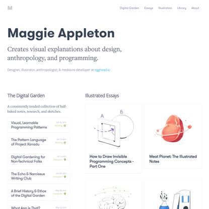 Maggie Appleton
