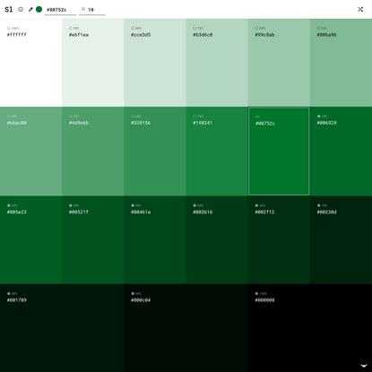 Shadowlord — Tints and Shades Generator Tool