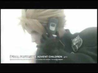 【Final Fantasy VII: Advent Children】📺 Panasonic FOMA P900iV Commercial