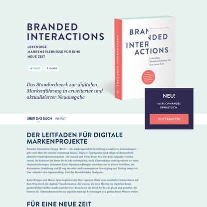 Branded Interactions   Lebendige Markenerlebnisse für eine neue ZeitBranded Interactions – Lebendige Markenerlebnisse für ei...
