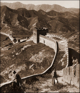 Greatwall China (1907) by Herbert G. Ponting