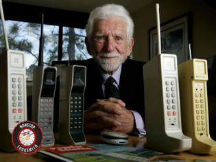 Martin Cooper, inventor of first cell phone